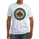 USS MARIANO G. VALLEJO Fitted T-Shirt