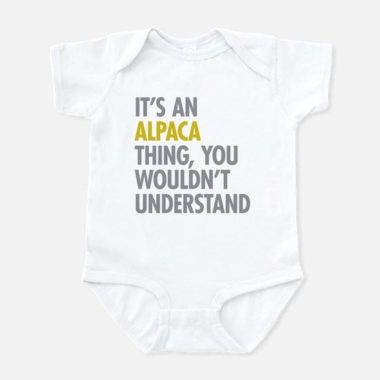 Its An Alpaca Thing Infant Bodysuit