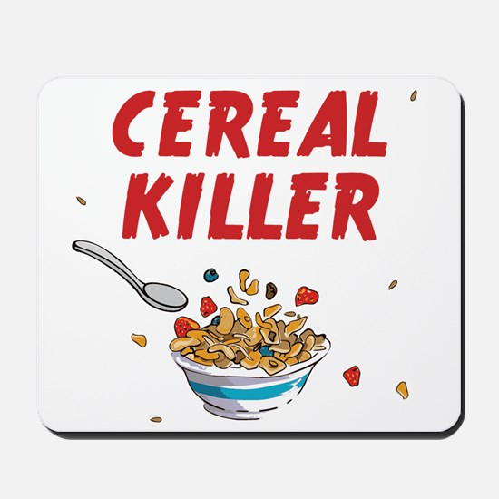 Breakfast Cereal Killer Mousepad