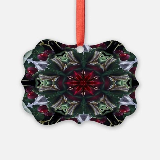 Christmas Berry Wreath Ornament