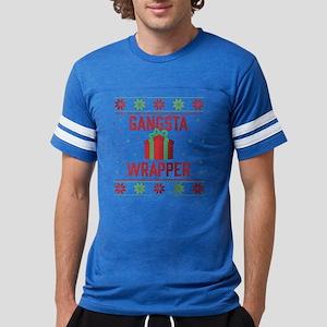 Gangsta Wrapper Mens Football Shirt