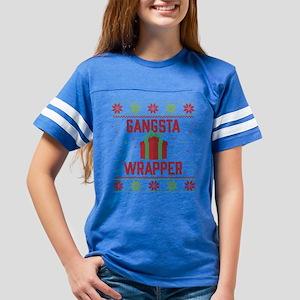 Gangsta Wrapper Youth Football Shirt