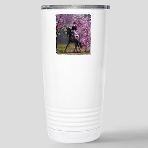 dressage horses HP Stainless Steel Travel Mug