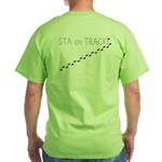 Green T-Shirt with back image