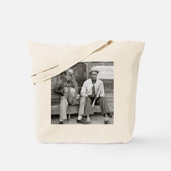 Street Musicians, 1938 Tote Bag