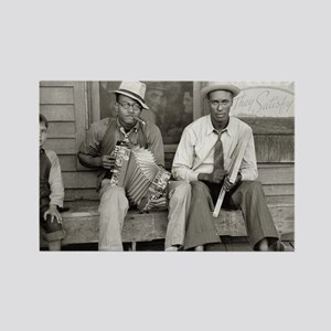 Street Musicians, 1938 Rectangle Magnet