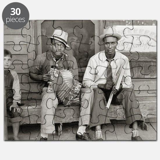 Street Musicians, 1938 Puzzle