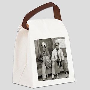 Street Musicians, 1938 Canvas Lunch Bag