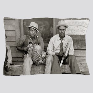 Street Musicians, 1938 Pillow Case
