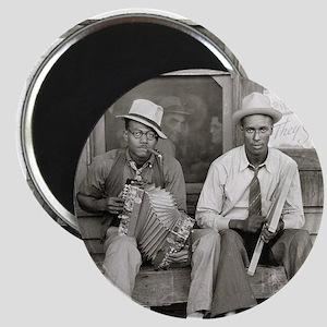 Street Musicians, 1938 Magnet