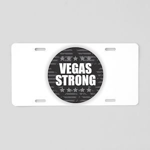 Vegas Strong Aluminum License Plate