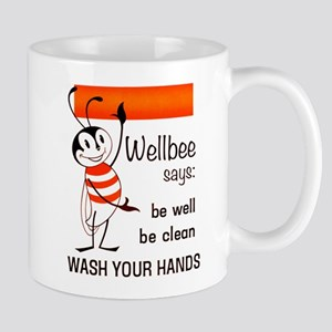 Wellbee Says 1964 Mugs