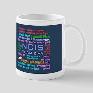 NCIS Ziva Tumbler Mugs