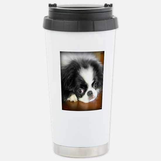 Buttons Stainless Steel Travel Mug