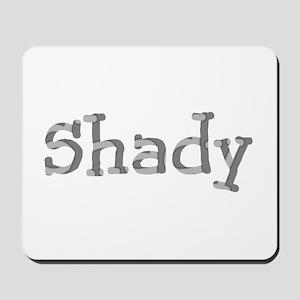 Funny Shady Sarcasm Font Mousepad
