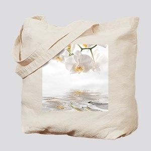 Orchids Reflection Tote Bag