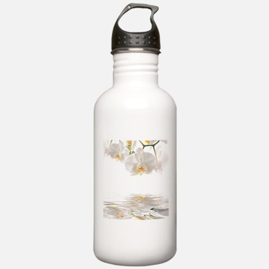 Orchids Reflection Water Bottle