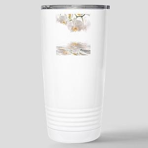 Orchids Reflection Travel Mug
