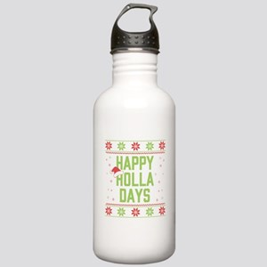 Happy Holla Days Stainless Water Bottle 1.0L