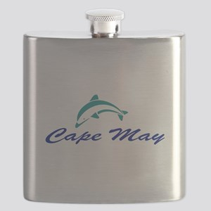Cape May with Dolphin Flask