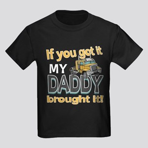 My Daddy Brought It Kids Dark T-Shirt