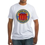 USS NATHAN HALE Fitted T-Shirt