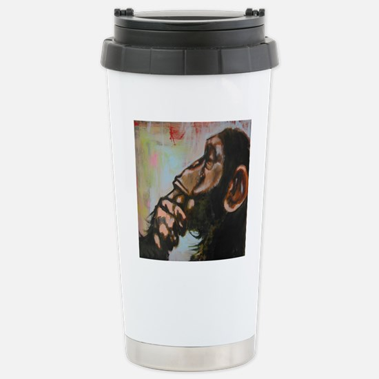 The thinker Stainless Steel Travel Mug