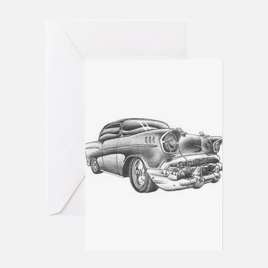 Vintage Chevy Greeting Cards