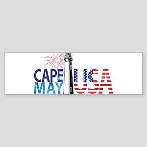 Cape May USA Bumper Sticker