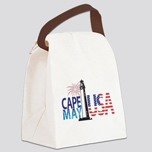 Cape May USA Canvas Lunch Bag