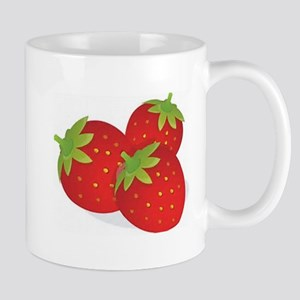 Strawberry Trio Mugs