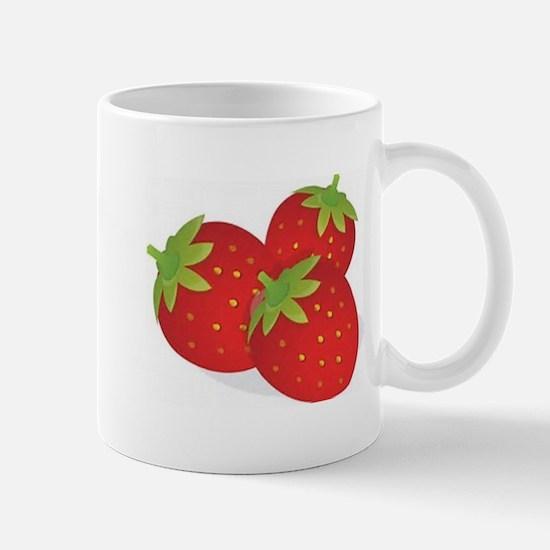 Strawberry Trio Mugs