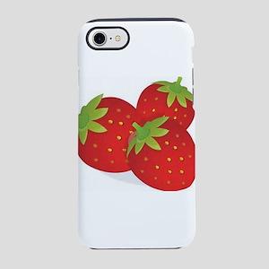 Strawberry Trio iPhone 7 Tough Case
