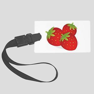 Strawberry Trio Luggage Tag