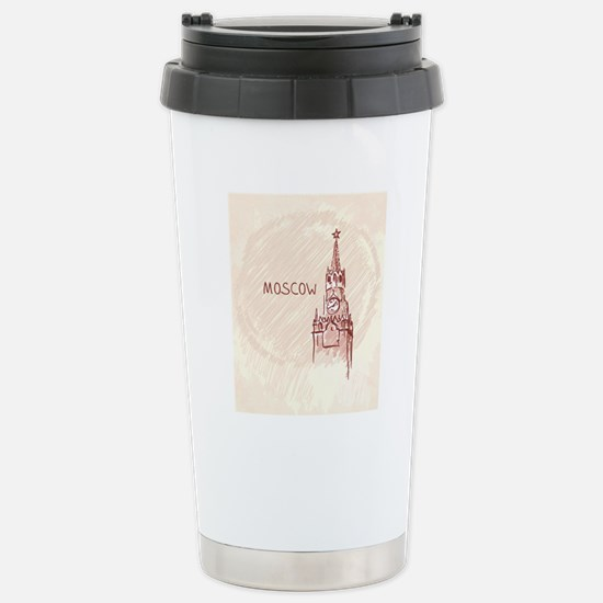 Moscow Stainless Steel Travel Mug
