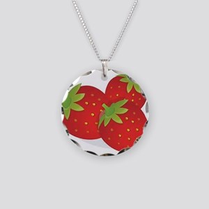 Strawberry Trio Necklace