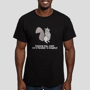 Bird feeder empty Men's Fitted T-Shirt (dark)