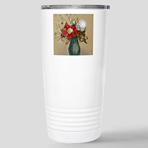 Odilon Redon - Vase of  Stainless Steel Travel Mug