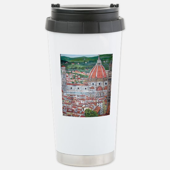 The Duomo of Florence Stainless Steel Travel Mug