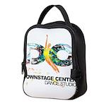 DSC colorful logo Neoprene Lunch Bag