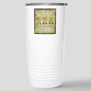 Teddy Bears Stainless Steel Travel Mug