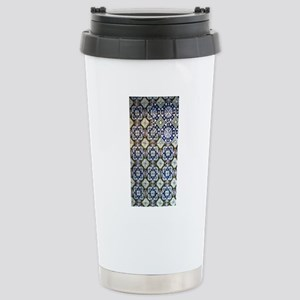 Mexican Mosaic Tile Stainless Steel Travel Mug