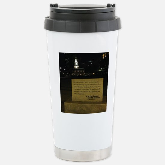 Independence Hall by ni Stainless Steel Travel Mug