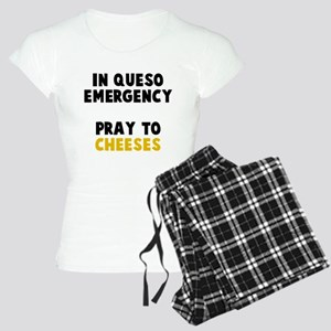 Queso Emergency Cheeses Women's Light Pajamas