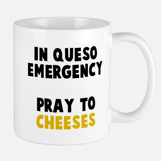 Queso Emergency Cheeses Mug