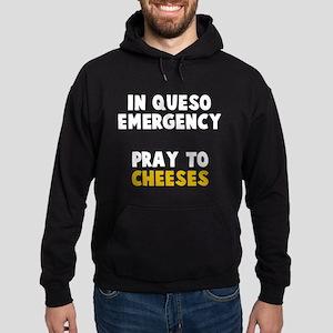Queso Emergency Cheeses Hoodie (dark)