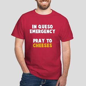 Queso Emergency Cheeses Dark T-Shirt
