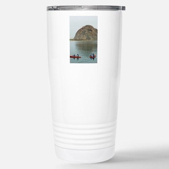 morro bay canoe Stainless Steel Travel Mug