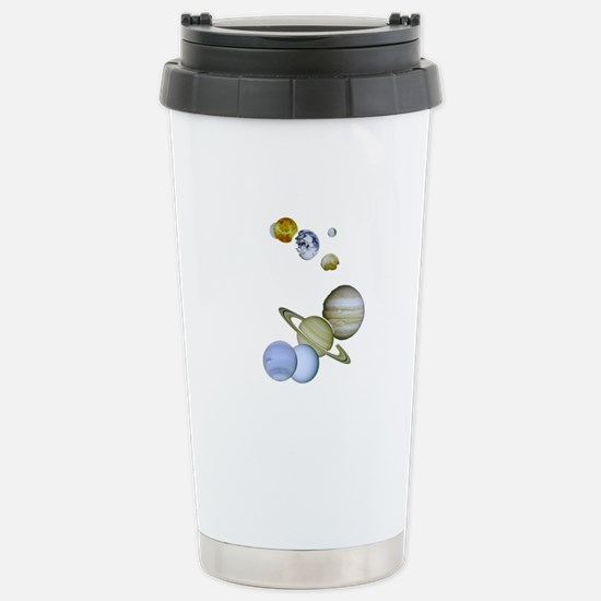 Our Solar System Planet Stainless Steel Travel Mug
