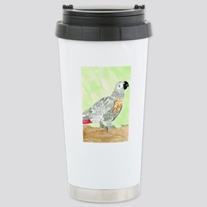 Voice-African Gray Stainless Steel Travel Mug